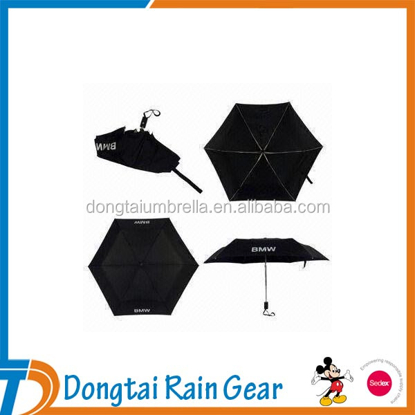 5 Folding Windproof Mini Umbrella Pocket Size