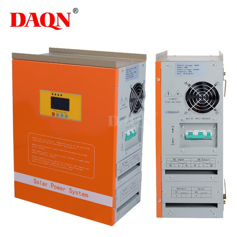 세 그리드 인버터 배터리 충전기 mppt 1kw 완료 홈 그리드 태양 광 시스템