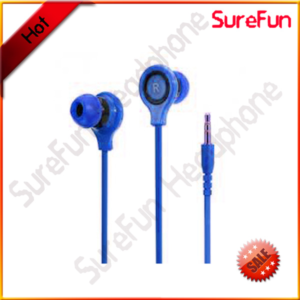 Rock Music Earphone In-Ear Headset Mini Earbuds for MP3 Player Mobile Phones