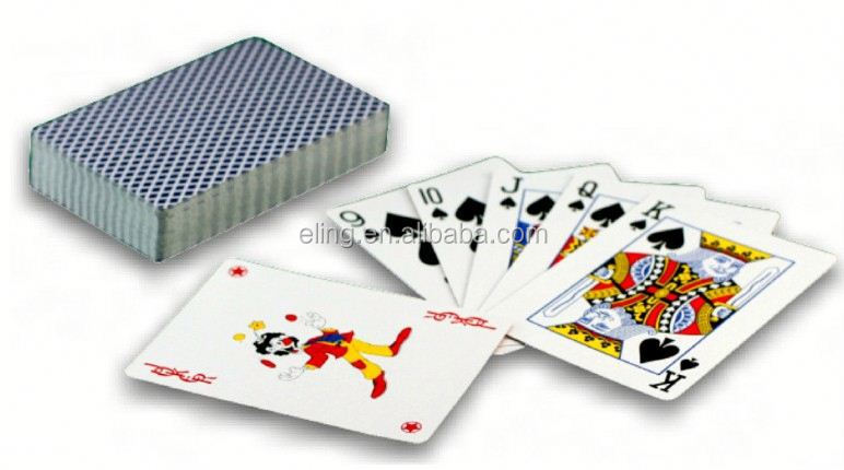 Plastic Poker Card printing mahiong machine