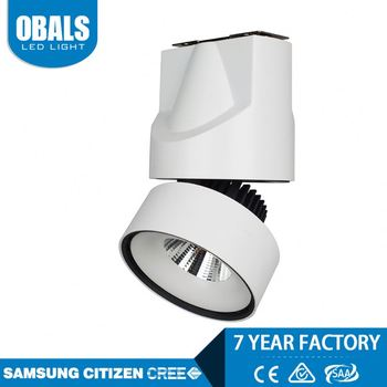 9W Round shape cree chip trimless led recessed downlight cob