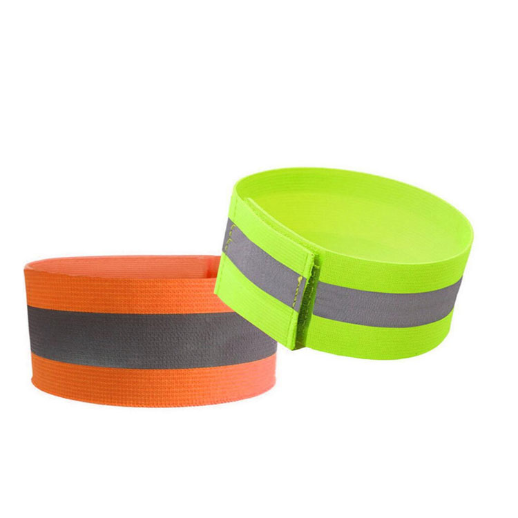 Factory Supply High Reflective armbands ankle bands for night cycling jogging walking
