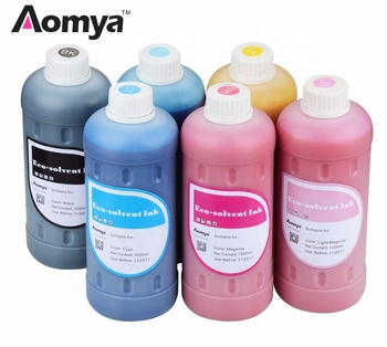 Universal Compatible Refillable Ciss And Eco-solvent Inks For Epson/ Mimaki/ Roland Printers