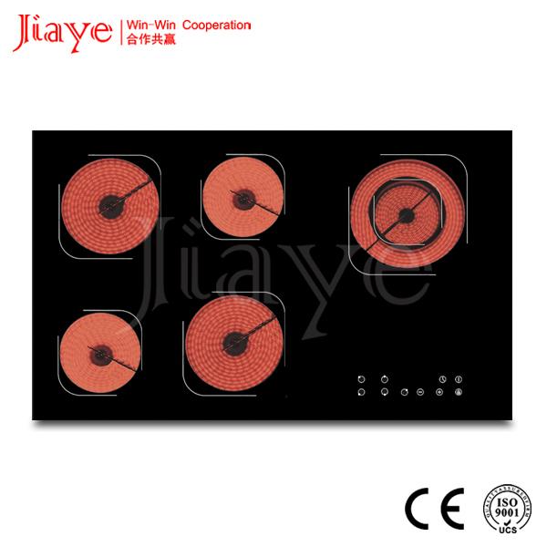 China Einfache Reinigung Glaskeramik Kochfeld/4mm Glaskeramik Herd Mit Ce,  Cb