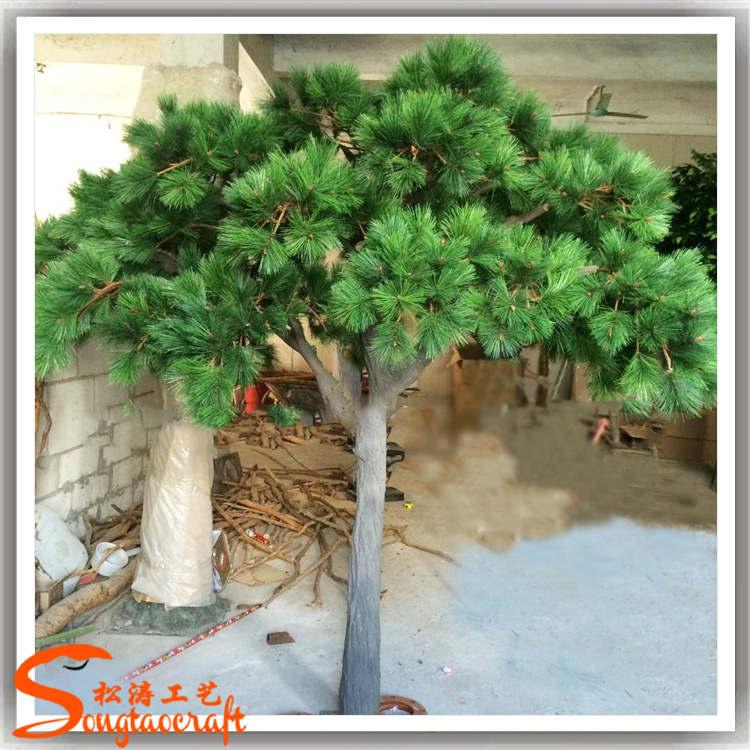 Garden Ornamental Artificial Big Pine Trees Looks Real For Outdoor Use Decorative Pine Trees View Artificial Pine Tree Songtao Product Details From