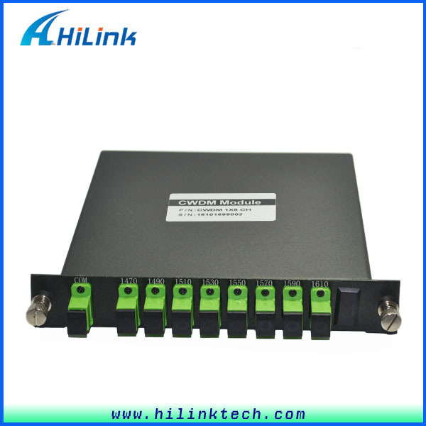 Network Routers 8 Channels CWDM Mux Demux Module