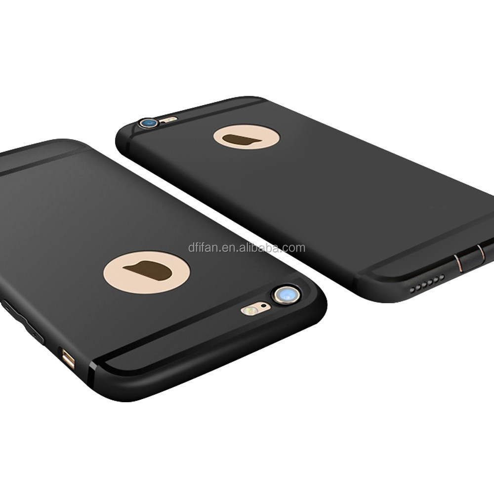 for iphone 7 case tpu, Bright Black Matte Case for Apple iphones 7, Black Dustproof for Apple 7 Shell