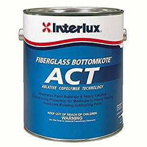Interlux ACT Ablative Antifouling Bottom Paint Gallon Y7790U/1