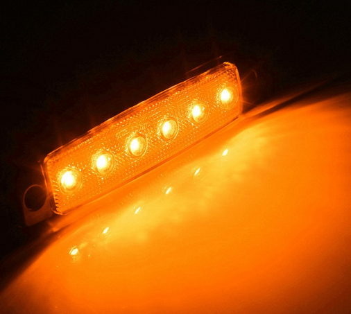 led side marker lights for trucks led side marker lamp 12v/24v led side marker lights