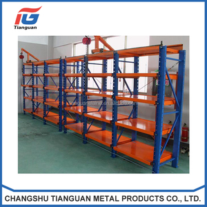 Heavy Duty Cold Rolled Steel Plate Mold Storage/Display Drawing Racks