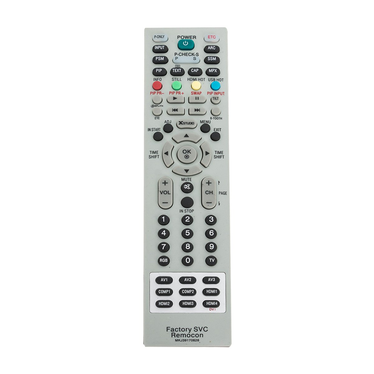 MKJ39170828 Replacement Service Remote Control fit for LG LCD LED TV