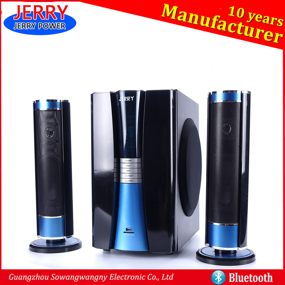 JERRY POWER 2016 hometheatre system 2.1 bluetooth subwoofer speaker
