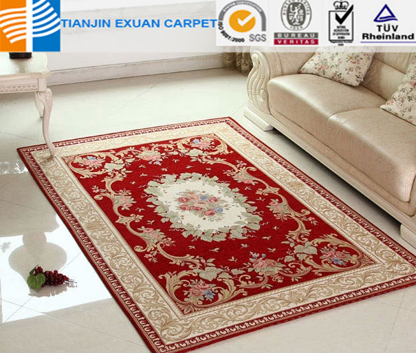 Polyester chenille Carpet rug for living room modern rugs