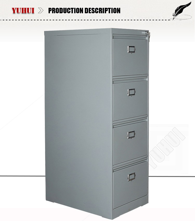 Durable Four Drawer File Cabinets Metal Filing Cabinet Godrej ...