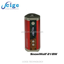 temp control shipment will from usa mod vaping in stock now ecigs snow wolf 218w