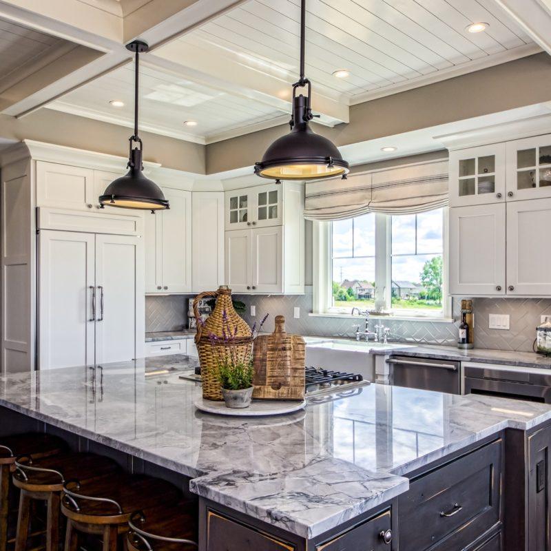 Interior Luxury Design Solid Wood Ghana Kitchen Cabinet ...