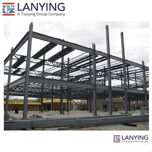 Pre-fabricated Steel Frame Warehouse/Hangar/workshop steel structure for car parking