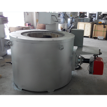 Factory price metal gas fired melting furnace