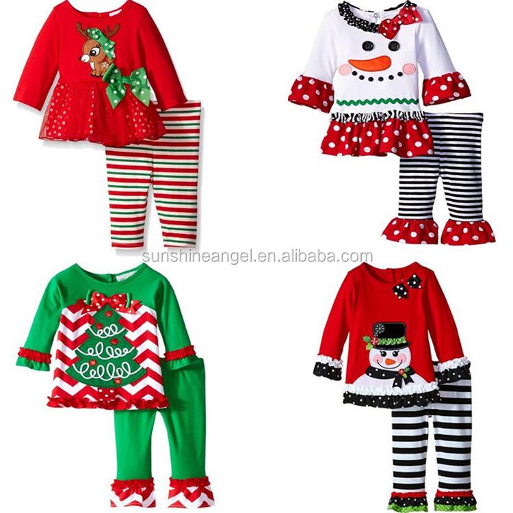 ms nuevo del algodn lindo nios boutique ropa de beb nias