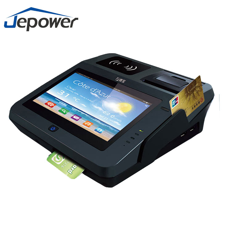 Customer management android ic chip card bill payment reduce cash handling pos