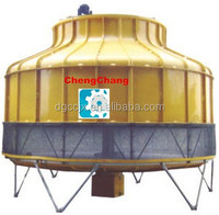 Round type cooling tower with light weight