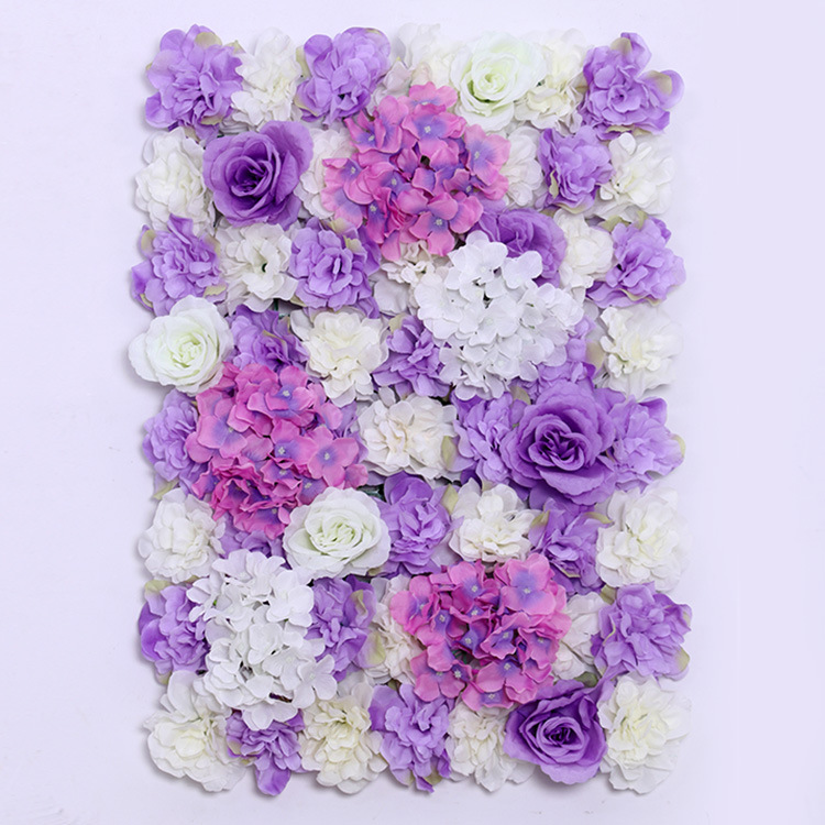 Artificial flower wall for wedding backdrop & stage background decoration