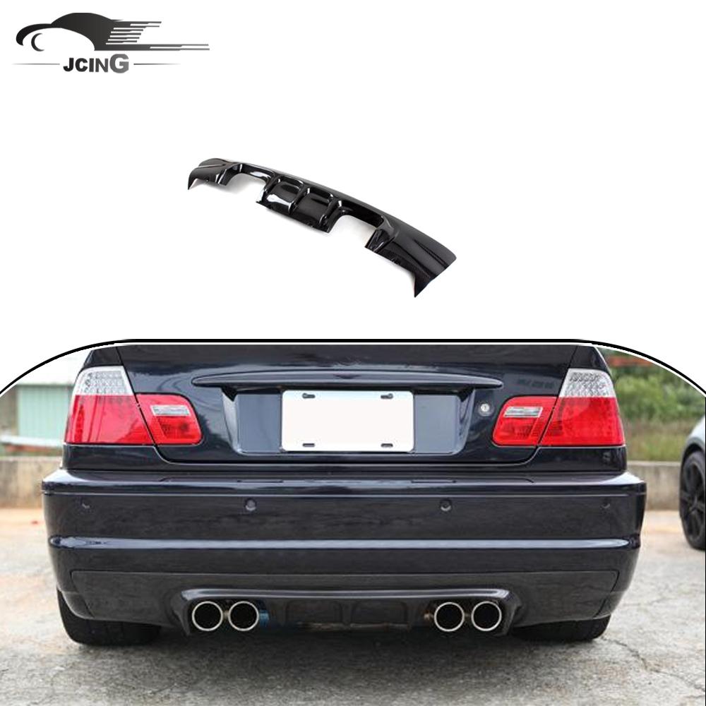 V Phong Cách Carbon Fiber Rear Bumper Diffuser Đối Với Bmw E46 M3 Phía Sau  Bumper - Buy E46 M3 Phía Sau Bumper Khuếch Tán,E46 M3 Khuếch