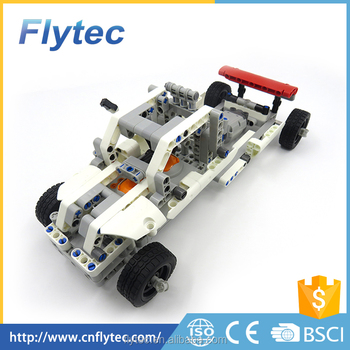 Flytec 2017A-27 10 IN 1 DIY Electronic Kits Building Block RC DIY car educational toy For kids In stock