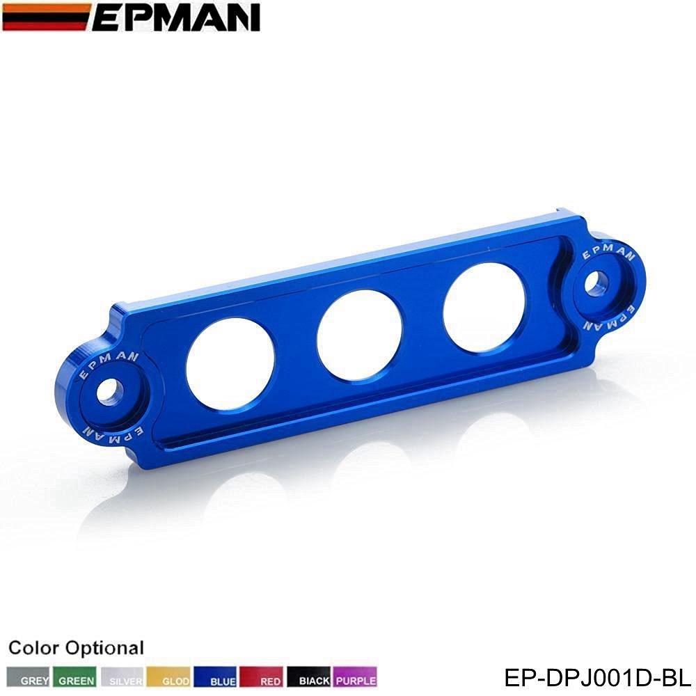 Blue Billet Aluminum Battery Tie Down Bracket For Honda Civic Integra S2000