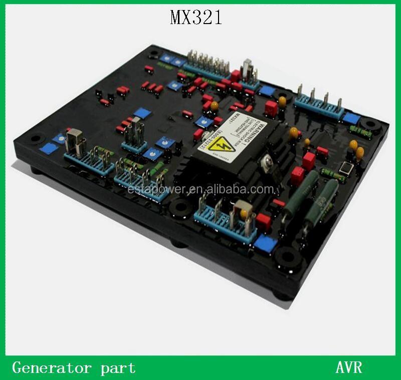 automatic voltage regulator avr mx321 red capacitors buy. Black Bedroom Furniture Sets. Home Design Ideas