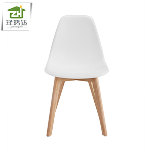 C101-PP4 Simple Modern Dinning Chairs PP Chairs with Wood Legs