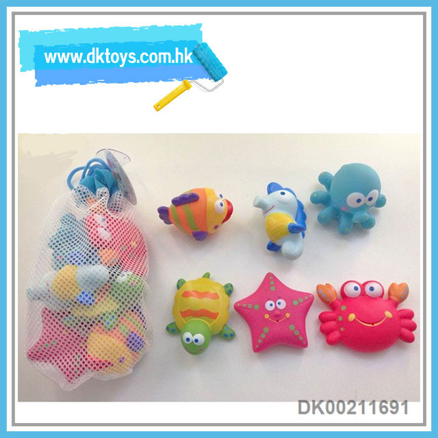 Good Gift For Baby 6PCS Bath Toys Paddle Toys Kids Toy With EN71 ASTM Cetificate