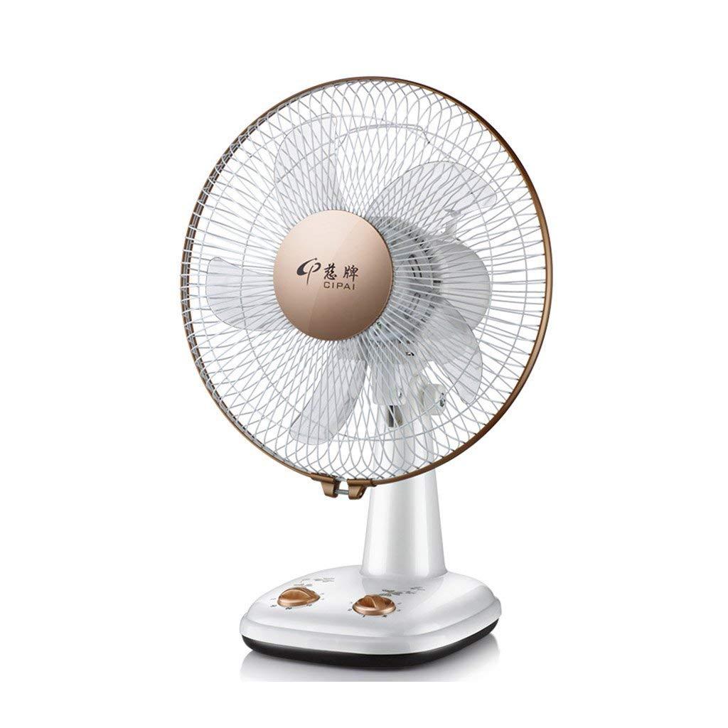 AJZGF Small household fan, floor fan, desktop fan, silent fan.