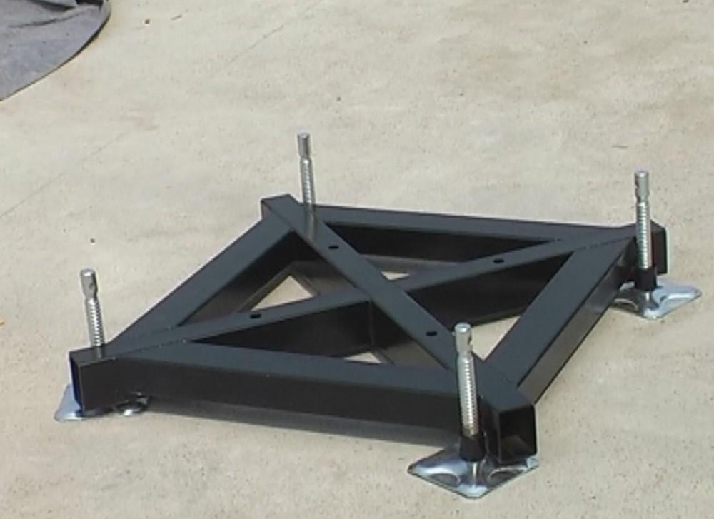 Aluminum Truss Base Plate 6063 Buy Truss Base Plate