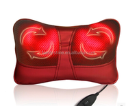 1pcs Neck Relaxation USB Pillow Electric Seat pads Shoulder Back Massager Car Shiatsu Massage Pillows with Heating