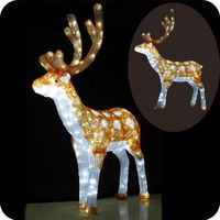 Reindeer outdoor lights christmas outdoor holiday decorations