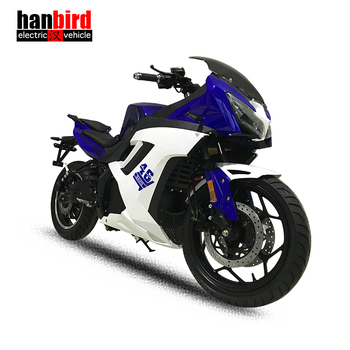 High Quality Racing Motorcycle Vehicle with 5000w Motor