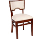 Cheap kitchen antique wood frame upholstered bistro chairs