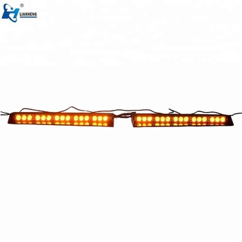 DC12V CE Car visor led warning interior light bar for emergency vehicle