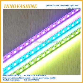 Single row aluminum 12 volt led strip lighting linear lights rgb single row aluminum 12 volt led strip lighting linear lights rgb rigid led light bar for aloadofball Images