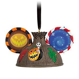 Disney Jack Skellington Ear Hat Ornament