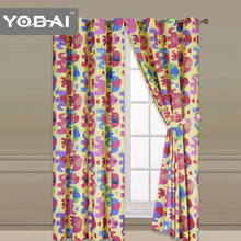 Stylish Luxury Design Different Styles Printed Curtains
