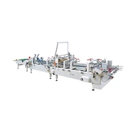ZH-580S fully automatic box lock bottom folder gluer machine with prefold