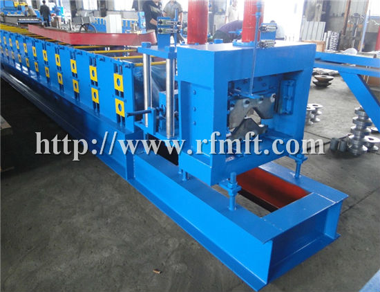 2015 New Designed !!! FRM Galvanized Metal Sheet Roof Ridge Cap Roll Forming Machine for sale