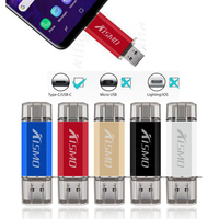Custom Type-C USB Flash Drive USB3.0 Pen drive 8gb 16gb 32gb 64gb 128gb Type-c Memory Stick Android OTG Memory Stick