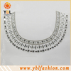 Hotfix Square Crystal Resin Stone Silver Some Studs Neckline
