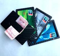 Carbon Fiber credit card holder money clip