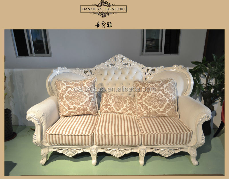 French Classic Furniture Chaise Lounge Sofa Bed