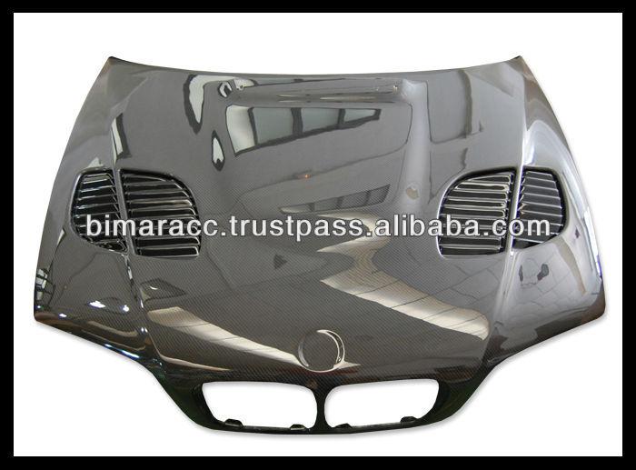 Carbon Hood For Bmw E46 M3 Gtr  Buy Carbon HoodE46 CslM3 Csl