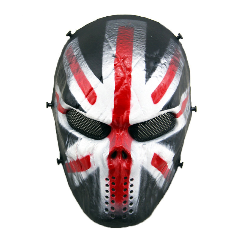 Carnival Ghost Full Face Skull Military Combat Mask